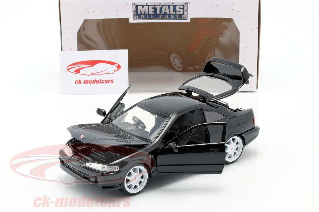 Honda Integra Type R year 1995 black 1:24 Jada Toys