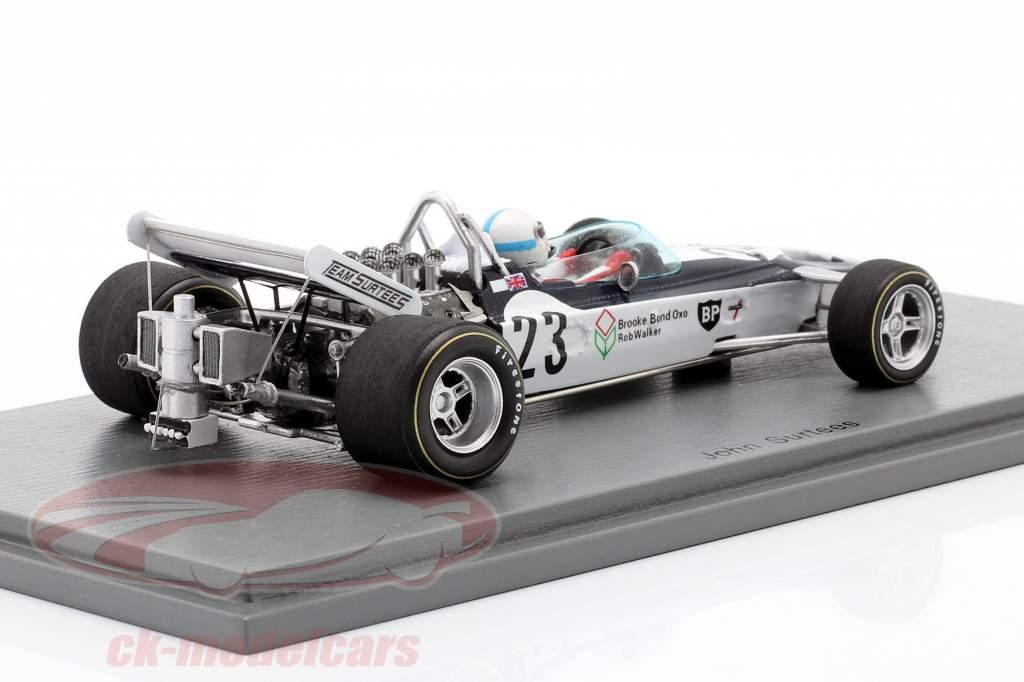 John Surtees Surtees TS9 #23 5th Dutch GP formula 1 1971 1:43 Spark