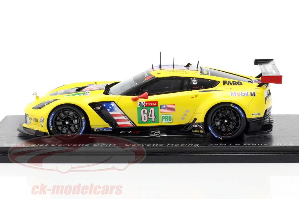 Chevrolet Corvette C7.R #64 24h LeMans 2019 Corvette Racing 1:43 Spark