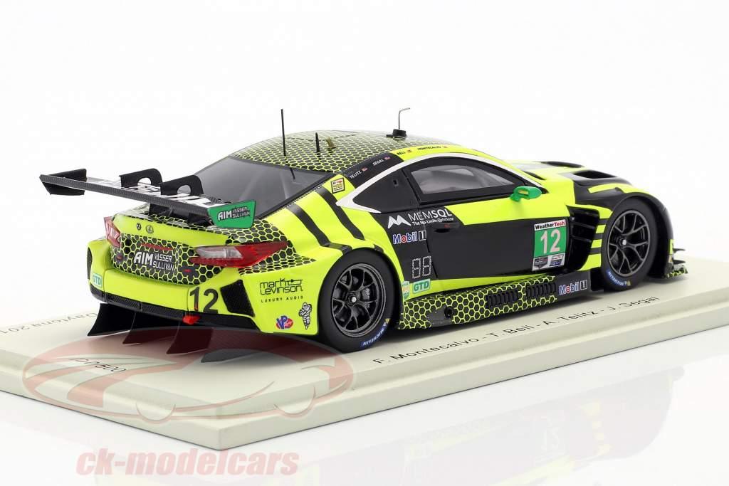 Lexus RC F GT3 #12 24h Daytona 2019 AIM Vasser Sullivan 1:43 Spark