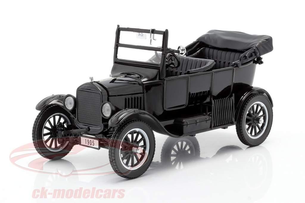 Ford Model T Baujahr 1925 mit 2 Figuren Laurel & Hardy 1:24 SunStar