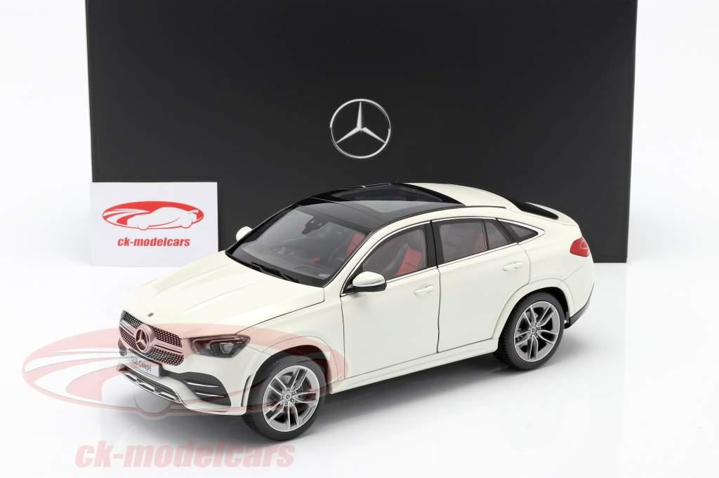 Mercedes-Benz GLE Coupe (C167) designo blanco diamante bright 1:18 iScale
