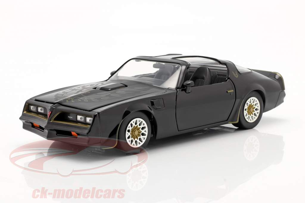 Tego's Pontiac Firebird 1977 Film Fast & Furious IV (2009) schwarz 1:24 Jada Toys