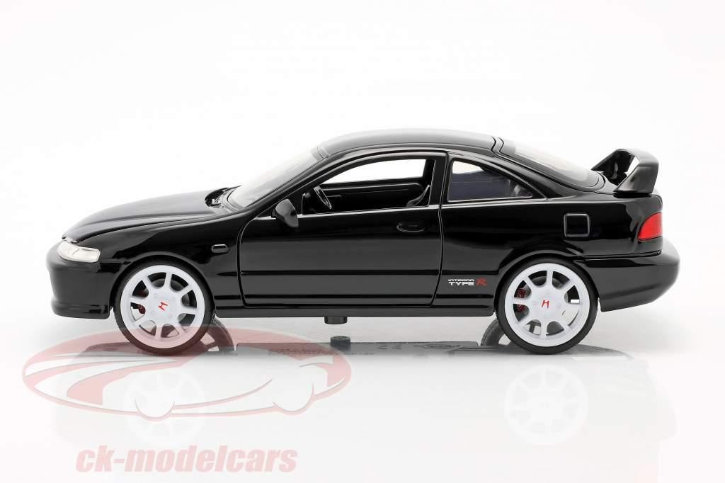 Honda Integra Tipo R Año de construcción 1995 negro 1:24 Jada Toys