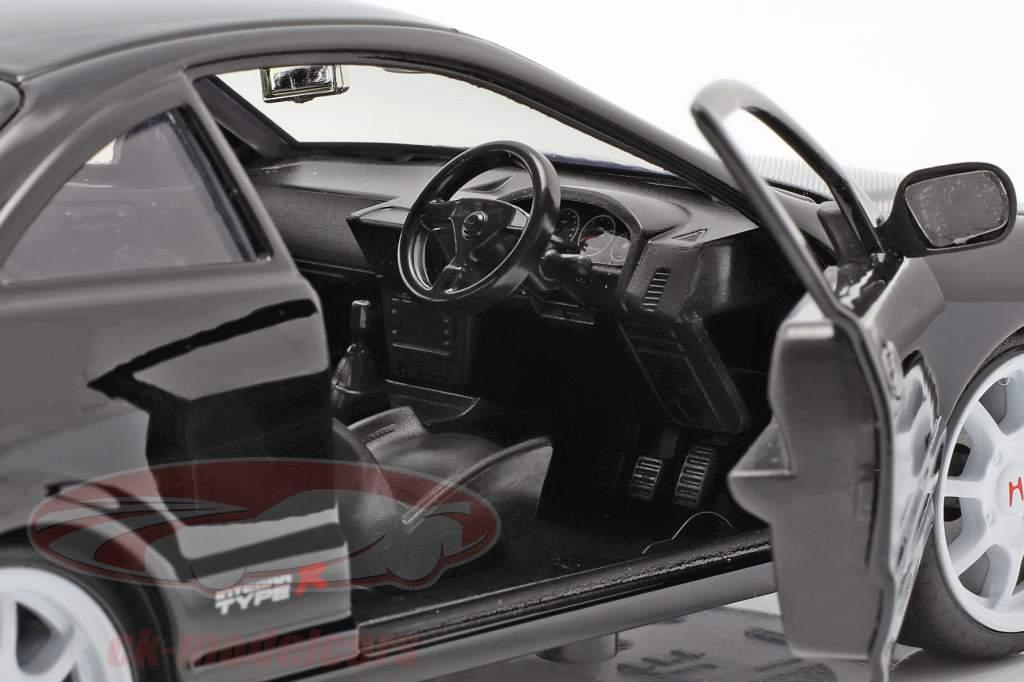 Honda Integra typen R Byggeår 1995 sort 1:24 Jada Toys