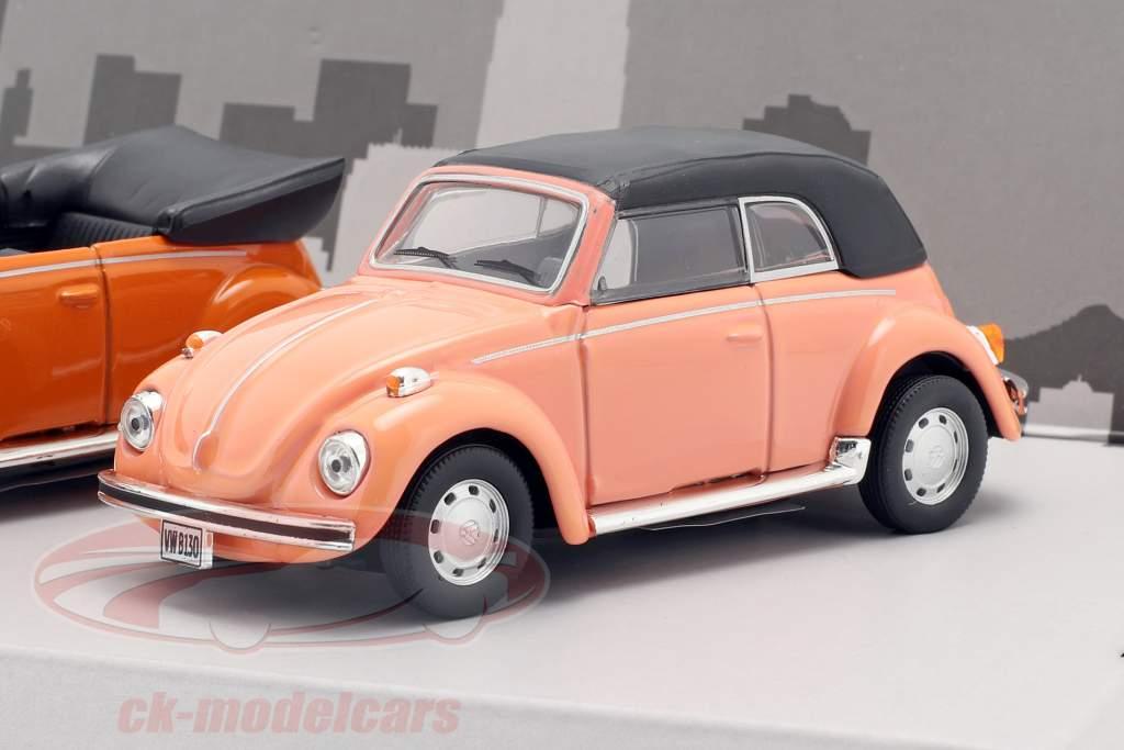 3-Car Set Volkswagen VW Käfer B130 1:43 Cararama