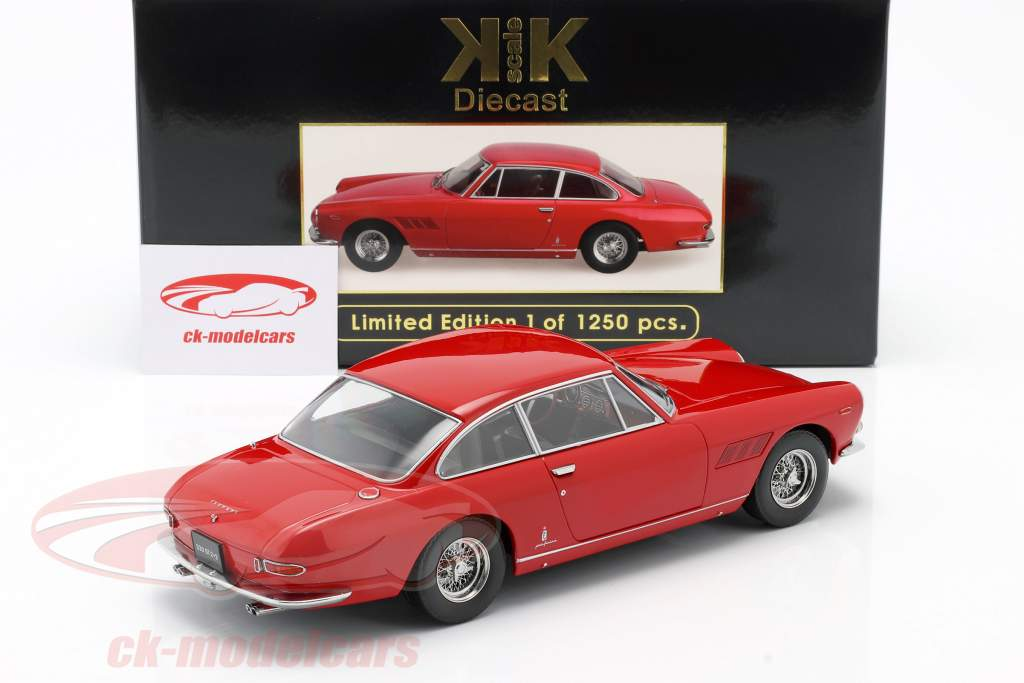 Ferrari 330 GT 2+2 Bouwjaar 1964 rood 1:18 KK-schaal