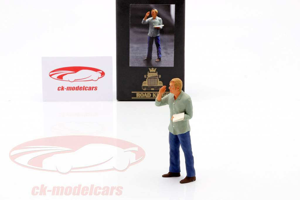 Figure Truck driver Günther standing 1:18 Road Kings