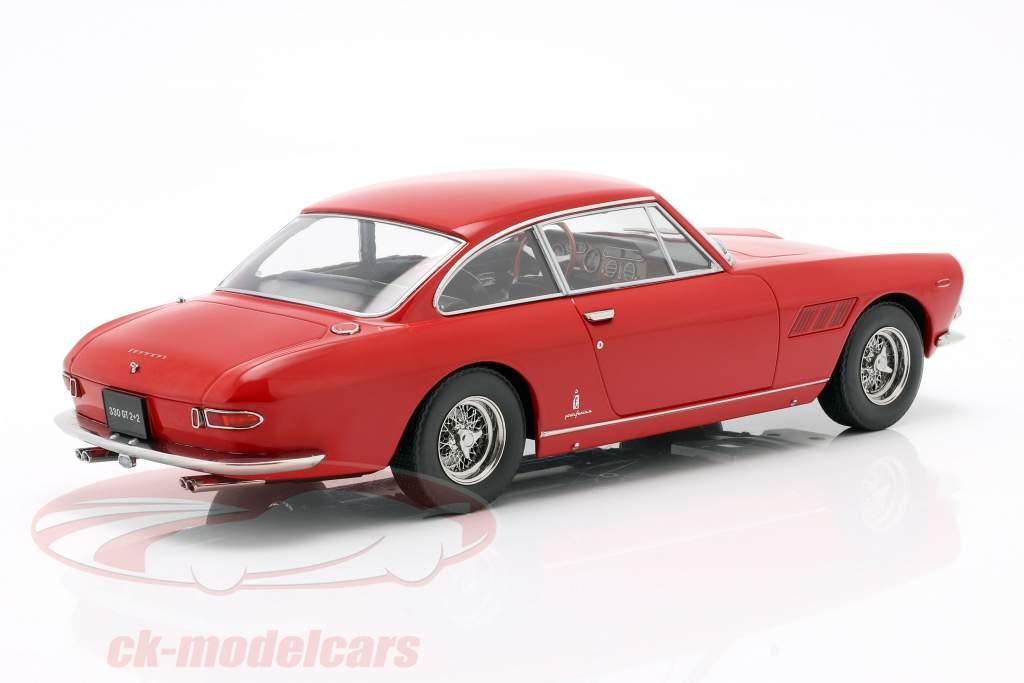 Ferrari 330 GT 2+2 Anno di costruzione 1964 rosso 1:18 KK-Scale