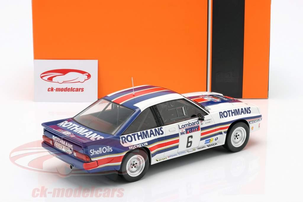 Opel Manta 400 #6 RAC Rallye 1983 Vatanen, Harryman 1:18 Ixo