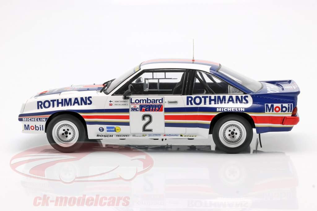 Opel Manta 400 #2 RAC Rallye 1983 Toivonen, Gallagher 1:18 Ixo
