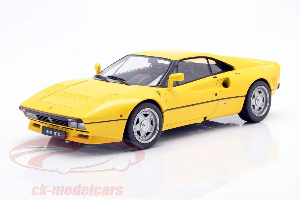 Ferrari 288 GTO Anno di costruzione 1984 giallo 1:18 KK-Scale