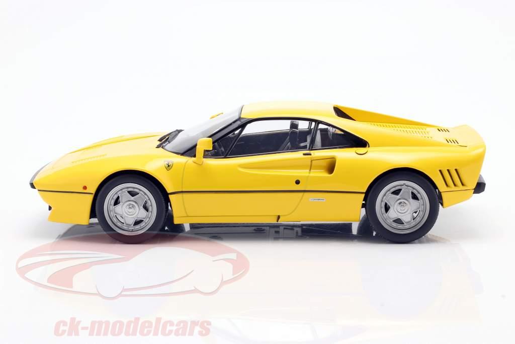 Ferrari 288 GTO year 1984 yellow 1:18 KK-Scale