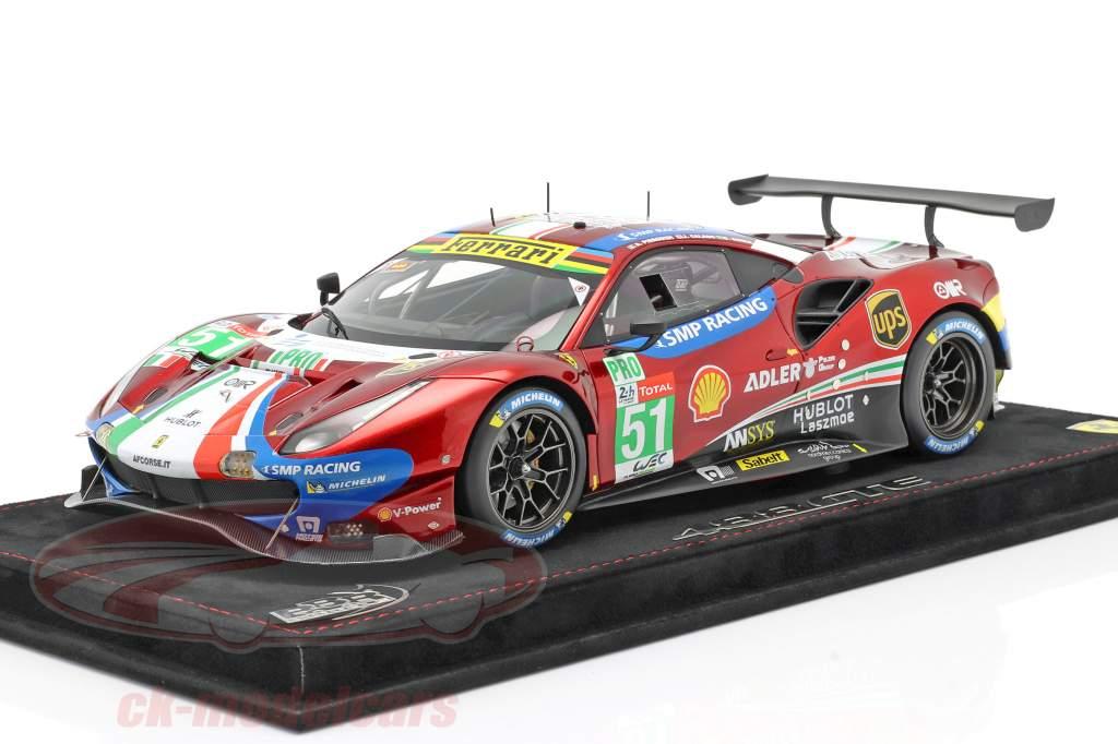 Ferrari 488 GTE #51 winner LMGTE-Pro Class 24h LeMans 2019 AF Corse 1:18 BBR