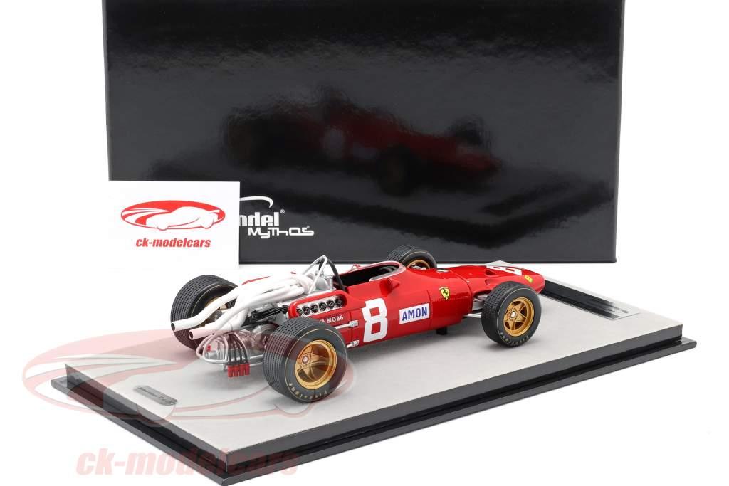Chris Amon Ferrari 312/67 #8 3 ° tedesco GP formula 1 1967 1:18 Tecnomodel
