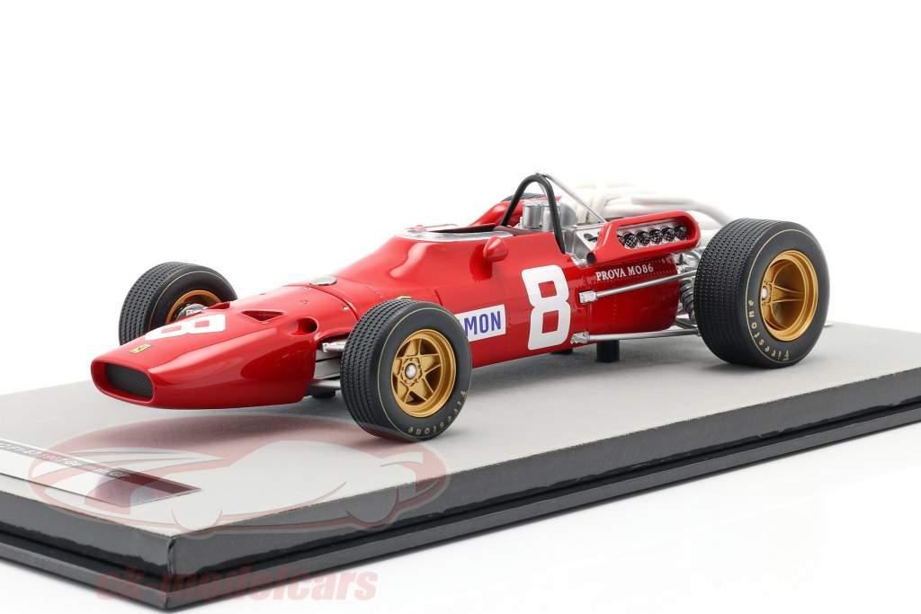 Chris Amon Ferrari 312/67 #8 3ro Aleman GP Formula 1 1967 1:18 Tecnomodel