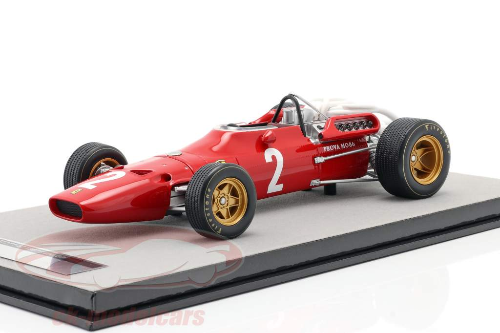 Chris Amon Ferrari 312/67 #2 Italiano GP Formula 1 1967 1:18 Tecnomodel