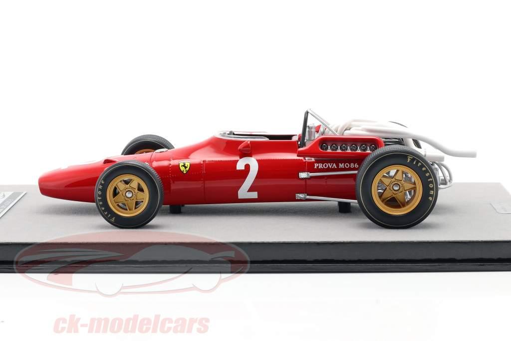 Chris Amon Ferrari 312/67 #2 Italien GP Formel 1 1967 1:18 Tecnomodel