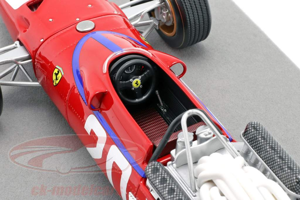 Chris Amon Ferrari 312/67 #20 3rd Monaco GP Formel 1 1967 1:18 Tecnomodel