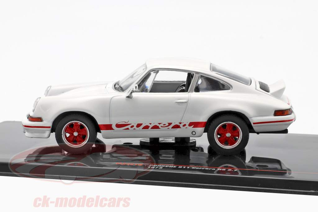 Porsche 911 Carrera RS 2.7 Baujahr 1973 weiß / rot 1:43 Ixo