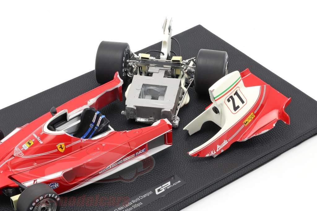 Niki Lauda Ferrari 312T #12 World Champion formula 1 1975 1:12 GP Replicas / 2. choice