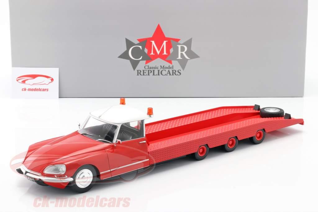 Citroen DS Tissier Coche transportador Año de construcción 1970 rojo 1:18 CMR