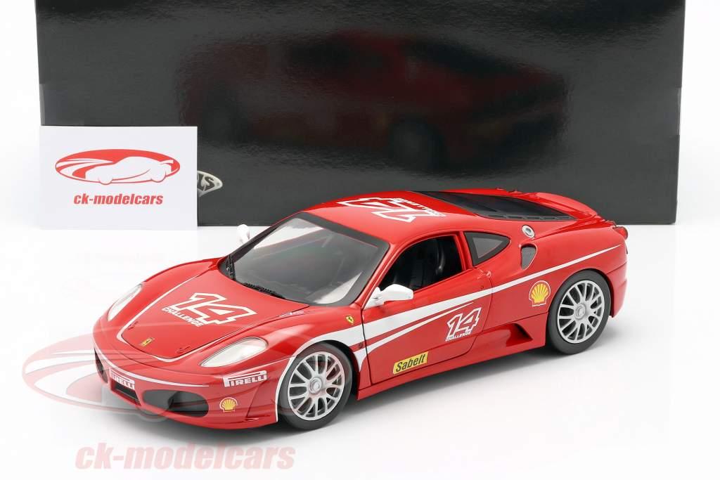 Ferrari F430 Challenge #14 ano 2005 vermelho 1:18 HotWheels