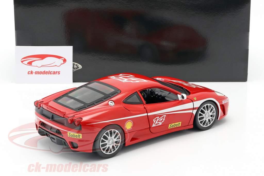 Ferrari F430 Challenge #14 año 2005 rojo 1:18 HotWheels