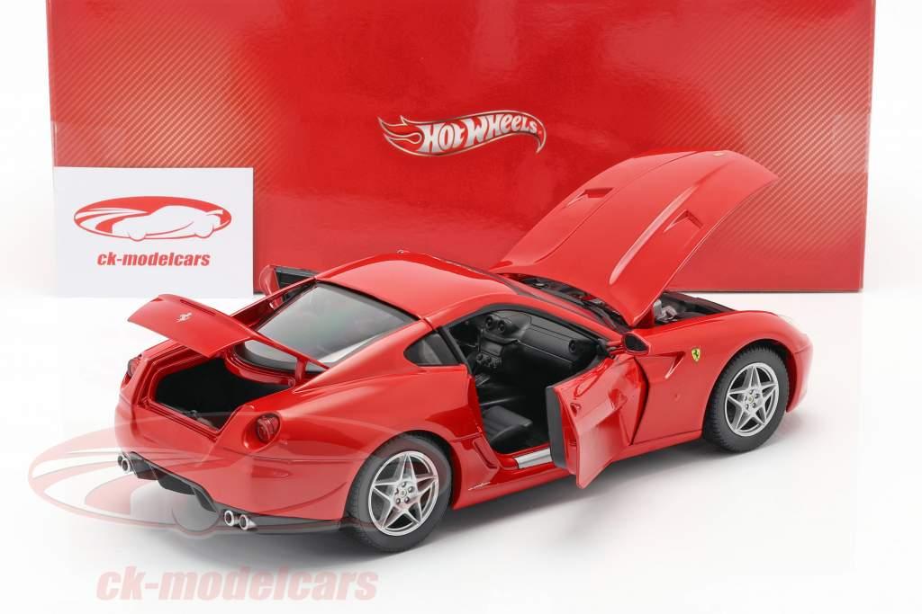 Ferrari 599 GTB Fiorano anno 2006 rosso 1:18 HotWheels
