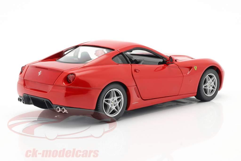 Ferrari 599 GTB Fiorano año 2006 rojo 1:18 HotWheels