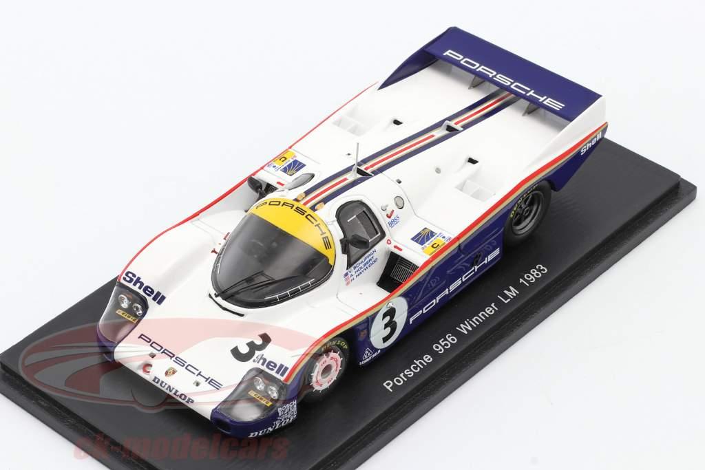 Porsche 956 #3 Holbert / Haywood / Schuppan Winnaar LeMans 1983 1:43 Spark / 2. Keuze