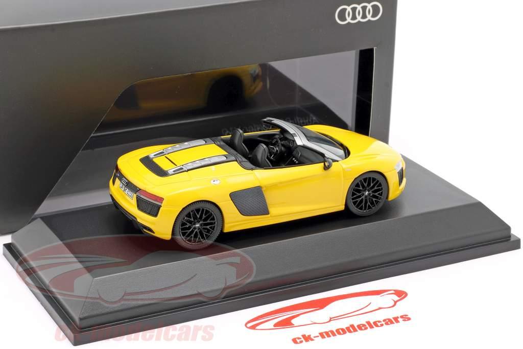 Audi R8 Spyder V10 vegas yellow 1:43 Herpa