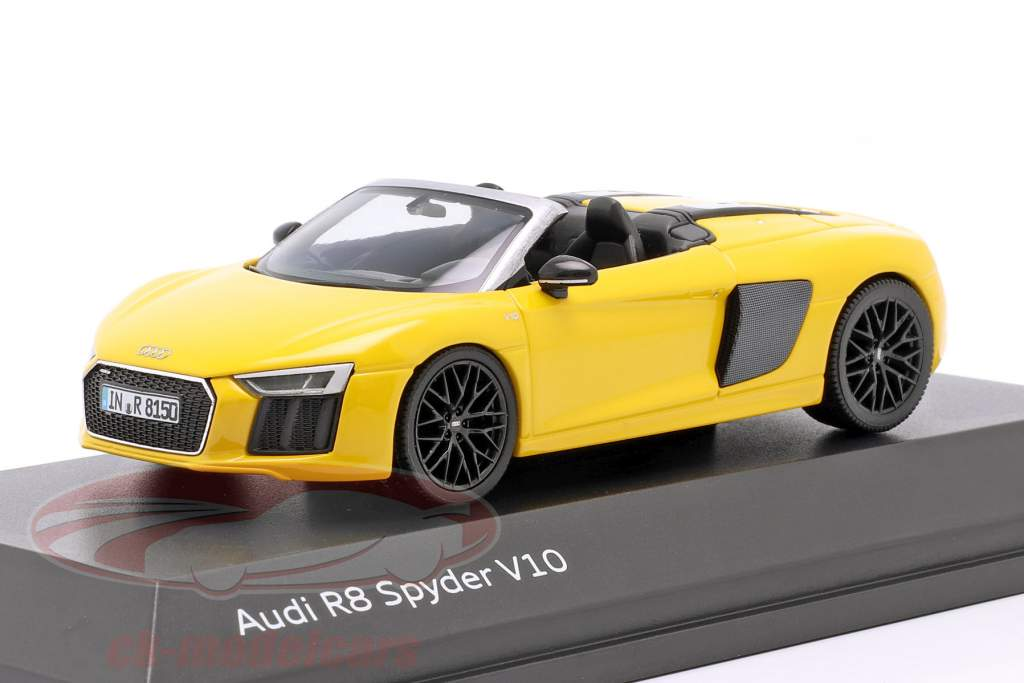 Audi R8 Spyder V10 vegas gelb 1:43 Herpa