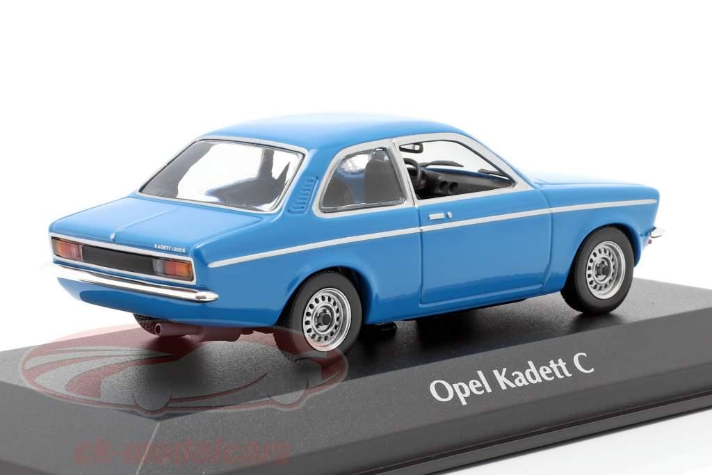 Opel Kadett C año 1974 azul 1:43 Minichamps