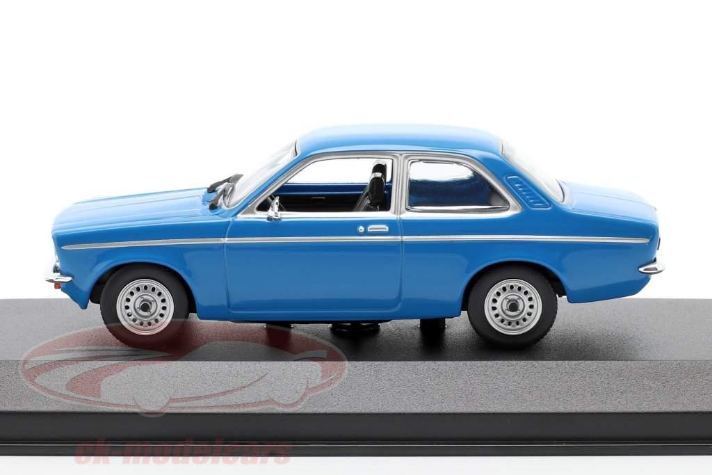 Opel Kadett C Year 1974 blue 1:43 Minichamps