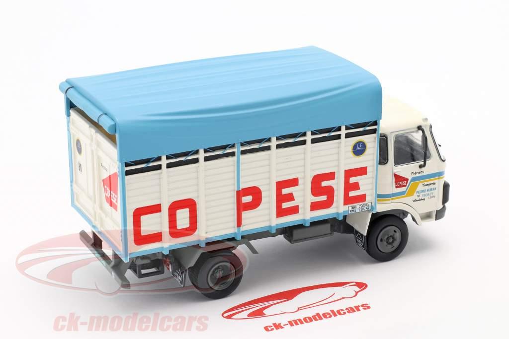 Pegaso 515 Truck Bouwjaar 1983 wit / blauw 1:43 Altaya