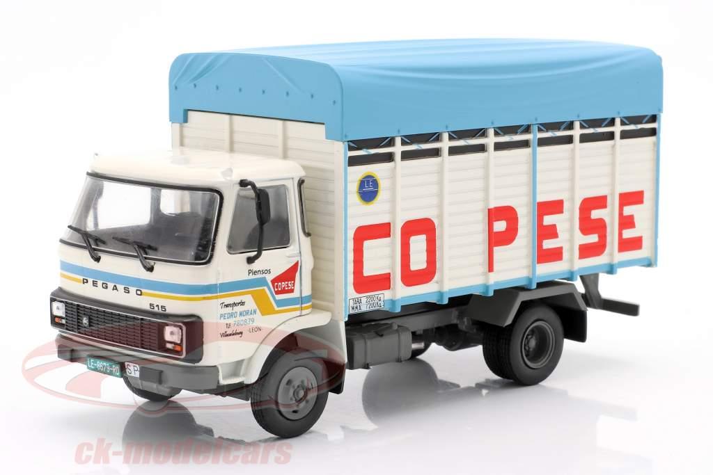 Pegaso 515 LKW Baujahr 1983 weiß / blau 1:43 Altaya
