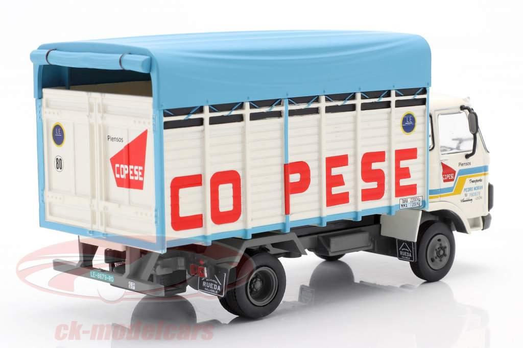 Pegaso 515 Truck Anno di costruzione 1983 bianco / blu 1:43 Altaya