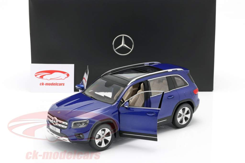 Mercedes-Benz GLB (X247) Bouwjaar 2019 galaxy blauw 1:18 Z-Models