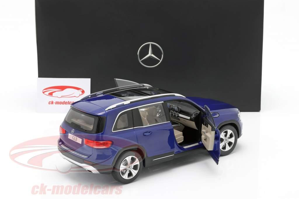Mercedes-Benz GLB (X247) year 2019 galaxy blue 1:18 Z-Models
