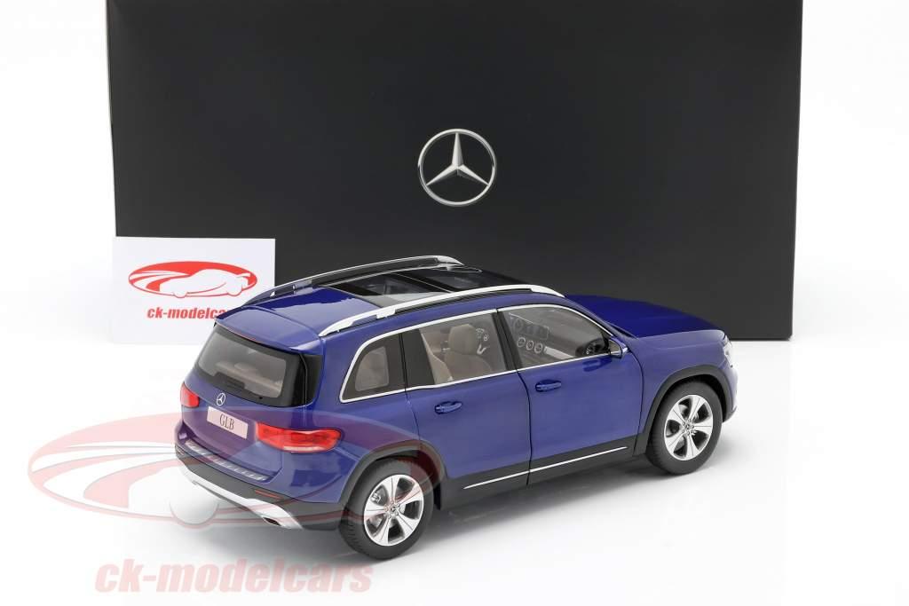 Mercedes-Benz GLB (X247) Baujahr 2019 galaxy blau 1:18 Z-Models