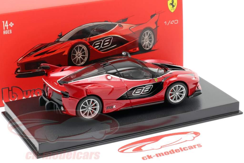 Ferrari FXX-K #88 rød / sort 1:43 Bburago Signature