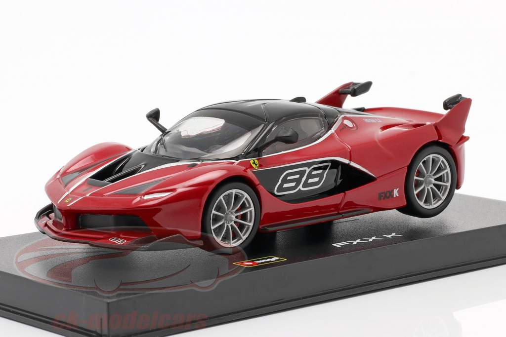 Ferrari FXX-K #88 rojo / negro 1:43 Bburago Signature