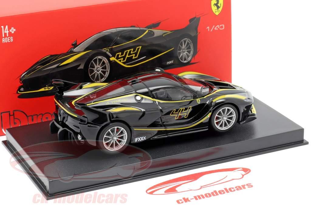 Ferrari FXX-K #44 negro 1:43 Bburago Signature