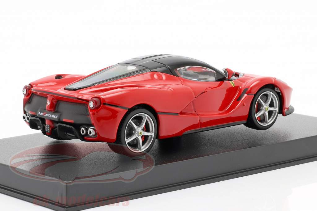 Ferrari LaFerrari rød / sort 1:43 Bburago Signature