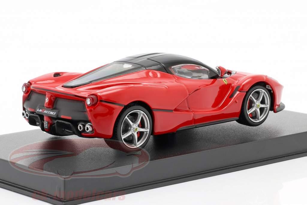Ferrari LaFerrari rot / schwarz 1:43 Bburago Signature