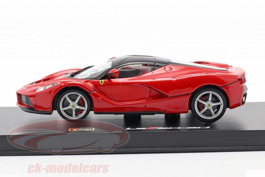 Ferrari LaFerrari rouge / noir 1:43 Bburago Signature