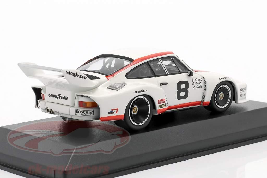 Porsche 935 #8 3. Platz 24h Daytona 1977 Joest, Wollek, Krebs 1:43 Minichamps