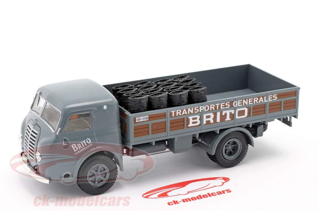Pegaso I Flatbed truck Brito year 1946 grey / brown 1:43 Altaya