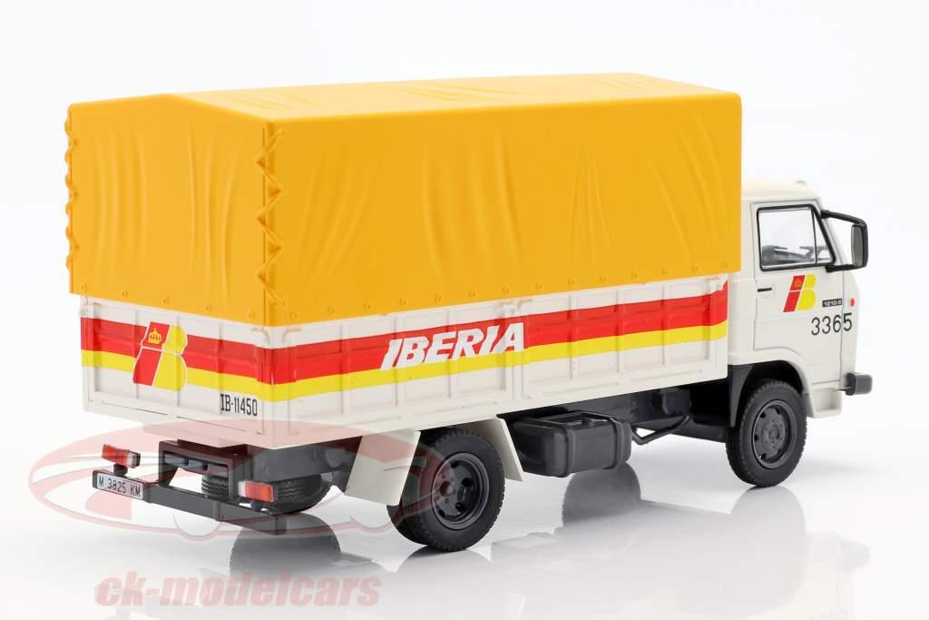 Pegaso Ekus 1210 Caminhão Iberia Ano de construção 1986 branco / amarelo / vermelho 1:43 Altaya